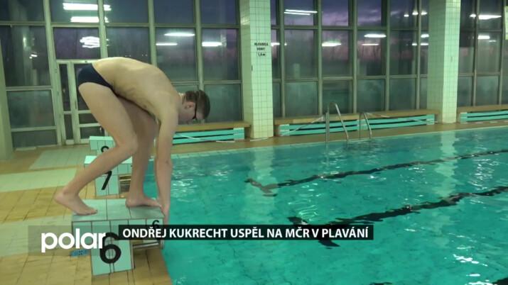 Dřinu ve vodě i na suchu zúročil plavec Ondra Kukrecht na MČR, několik disciplín vyhrál