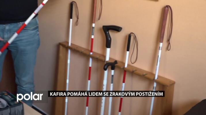 Kafira pomáhá lidem se zrakovým postižením. Podívejte se, jak funguje