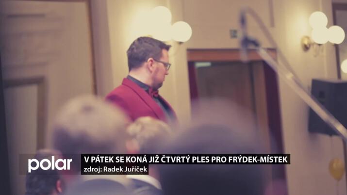 V pátek se koná Čtvrtý ples pro Frýdek-Místek. Roztančí jej Petr Sovič a jeho Golden Big Band Prague