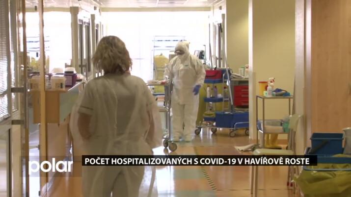 Počet hospitalizovaných s COVID-19 v Havířově roste, zdravotníci táhnou za jeden provaz