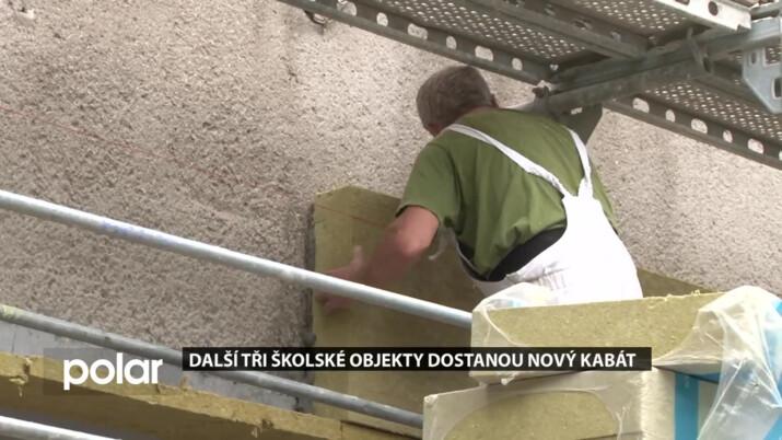 V průběhu května odstartovaly v Orlové stavební práce na zateplení tří školských objektů