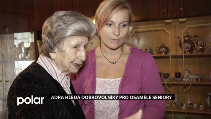 V Orlové žije mnoho osamělých seniorů. ADRA k nim hledá dobrovolníky