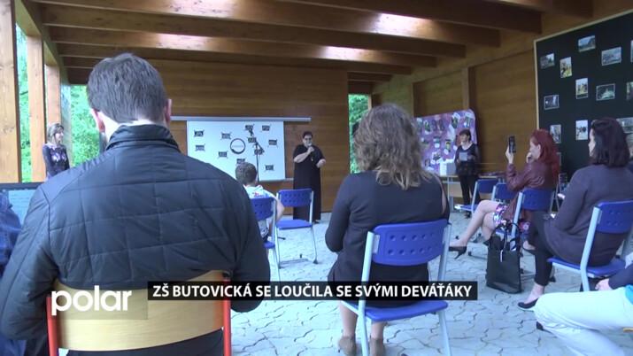 Základní škola Butovická se loučila se svými deváťáky