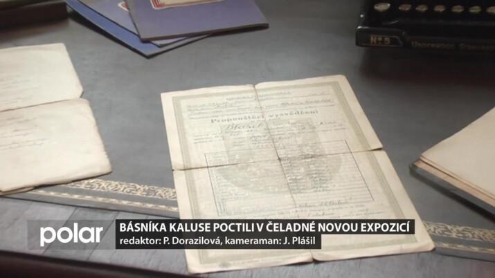 Básníka Kaluse poctili v Čeladné novou expozicí. U otevření nechyběli potomci jeho rodiny
