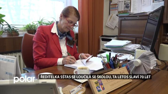 Ředitelka SŠTaS Karviná se loučila se školou, ta letos slaví 70 let