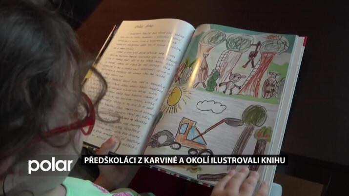 Předškoláci z Karviné a okolí ilustrovali společnou knihu, dostali ji na konci školního roku
