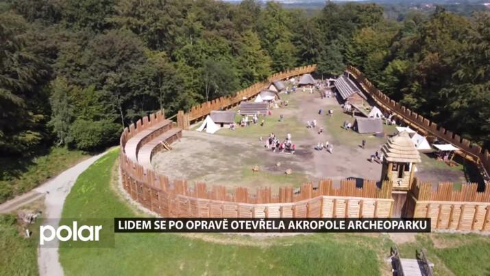 Lidem se po rekonstrukci opět otevřela akropole archeoparku