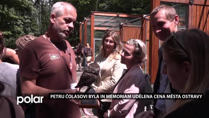 Zesnulý Petr Čolas obdržel in memoriam Cenu města Ostravy. Patřil k uznávaným odborníkům