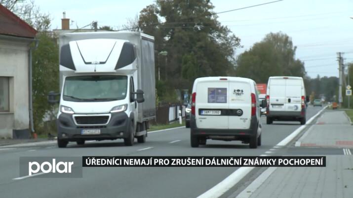 Úředníci odmítají zrušit poplatek na dálnici mezi Ostravou a Frýdkem-Místkem, obce čekají na vyjádření ministra dopravy
