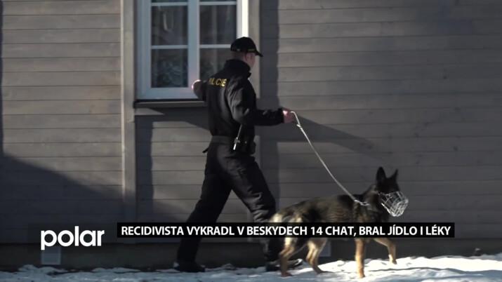 Protřelý recidivista krátce po propuštění z vězení vykradl 14 chat v Beskydech. Bral hlavně jídlo, léky a oblečení