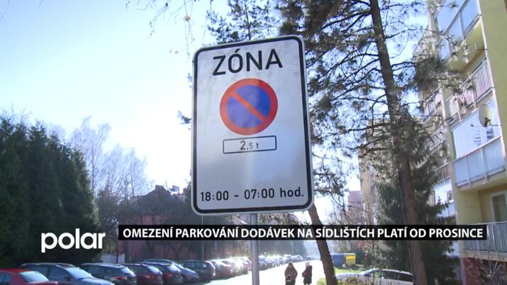 Začíná zkušební provoz omezení parkování dodávek ve Frýdku-Místku, od prosince na sídlišti Růžový pahorek