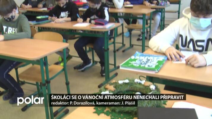 Školáci v Čeladné se ladili na Vánoce, začlenili sváteční atmosféru do hodin