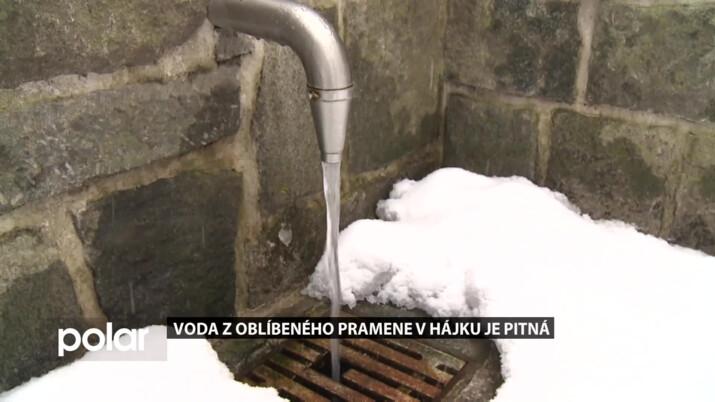 Rozbory vody z oblíbeného pramene v Hájku dělá Frýdek-Místek po celý rok