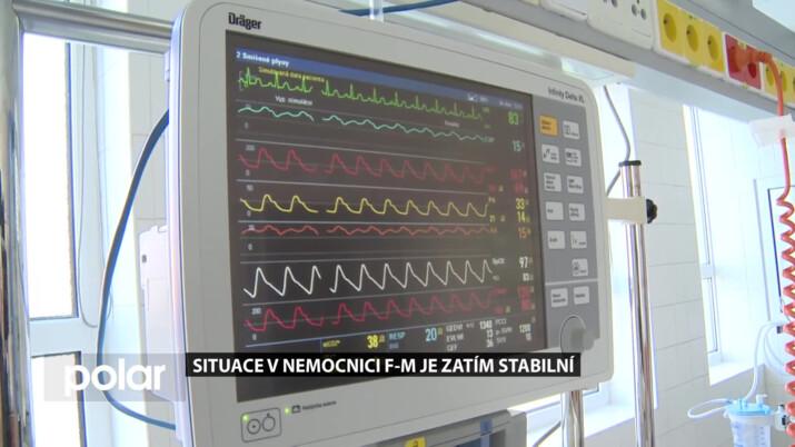 Situace v Nemocnici ve Frýdku-Místku je zatím stabilní, rostou ale obavy z možného zhoršení