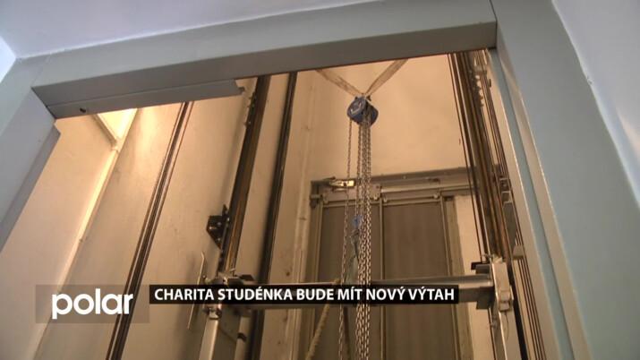Charita Studénka bude v brzké době vybavena novým výtahem.
