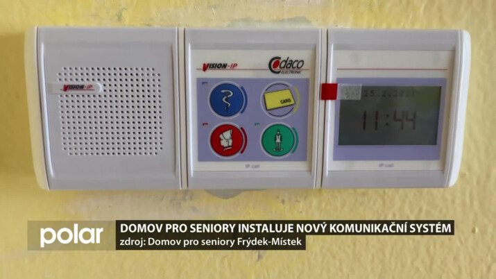 Domov pro seniory Frýdek-Místek instaluje nový komunikační systém Sestra-Pacient