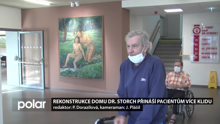 Rekonstrukce domu Dr. Storch v Čeladné přináší pacientům více klidu