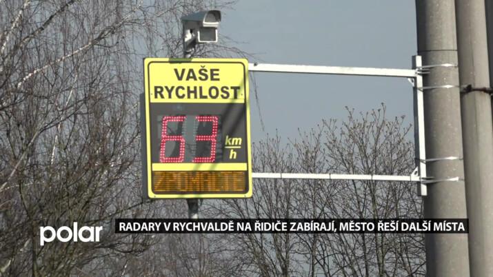 Radary v Rychvaldě zpomalily dopravu na hlavních tazích, město teď řeší další ulice