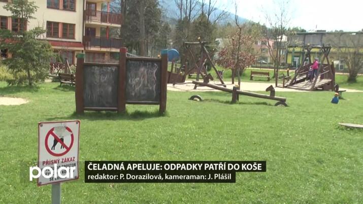 Čeladná chce v obci pořádek, apeluje na místní i turisty
