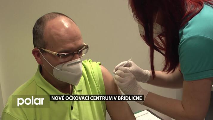 Nové očkovací centrum v Břidličné zvládne naočkovat až 300 zájemců denně