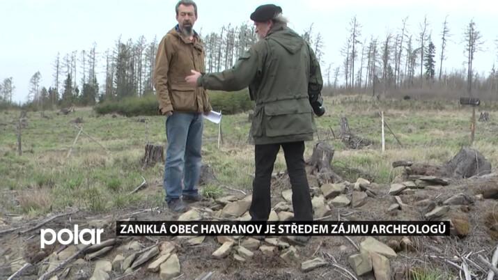 V odlesněné oblasti na Lichnovsku se objevily pozůstatky zaniklé středověké obce Havranov