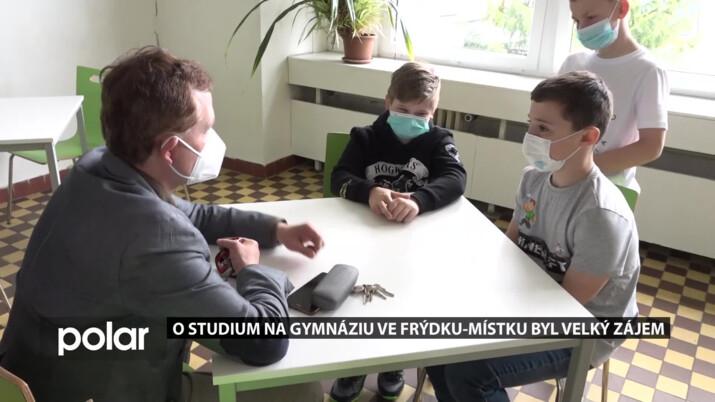 STUDUJ U NÁS: Gymnázium Cihelní ve F-M zaznamenal zvýšený zájem o studium