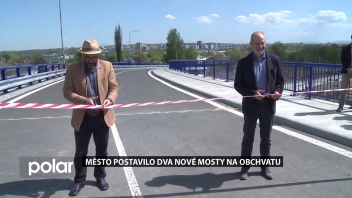 Nové mosty nad obchvatem Frýdku-Místku zajistí bezpečnější spojení s Olešnou