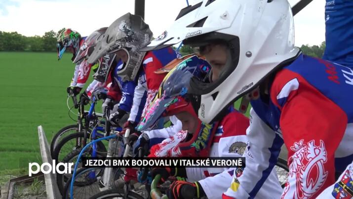 Závodníci BMX se vrátili na svou dráhu