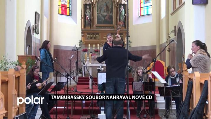 Tamburaši natáčeli nové CD v kostele