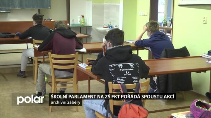 Školní parlament vymýšlel aktivity i v domě distanční výuky