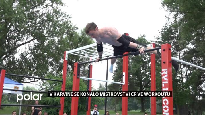 V Karviné se konalo mistrovství ČR ve workoutu a rozhodně se bylo na co dívat