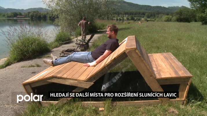 Slunící lavice na Olešné projde úpravou a vylepšením, hledají se místa pro další rozšíření
