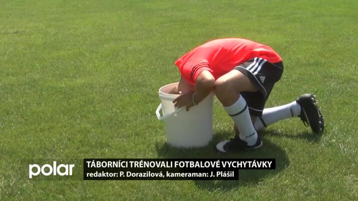 Táborníci v Čeladné trénovali fotbalové vychytávky
