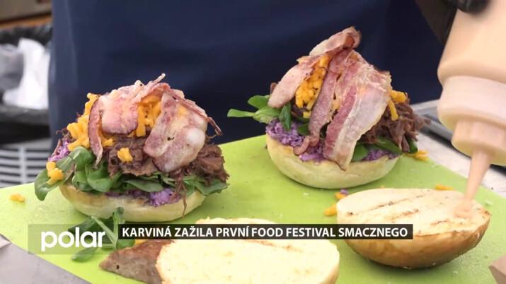 Karviná o víkendu zažila historicky první festival dobrého jídla Smacznego