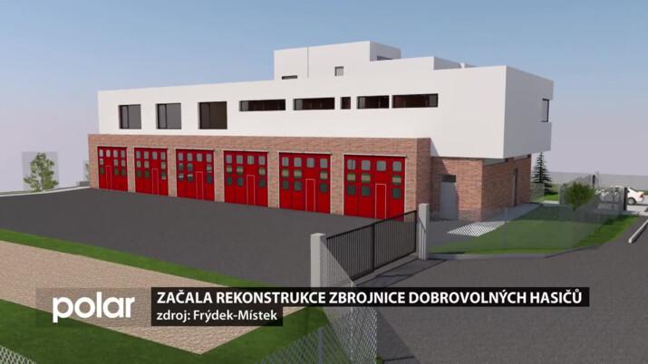 Začala rekonstrukce zbrojnice dobrovolných hasičů ve Frýdku-Místku, jednotka se přemístila do nemocnice