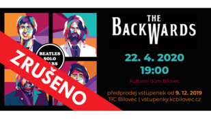 ZRUŠENO!!! THE BACKWARDS / koncert Beatles revival kapely